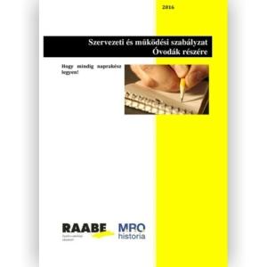 Szervezeti és működési szabályzat - Óvodák részére