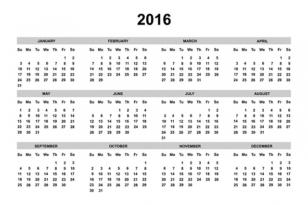 Munkaszüneti napok és munkarend 2016-ban