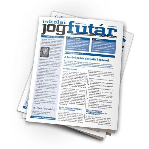 Iskolai Jogfutár - Online verzió