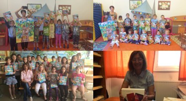 Így örültek a rajzpályázat nyertesei az ajándékoknak