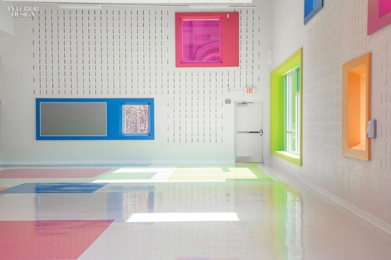 színes belső tér