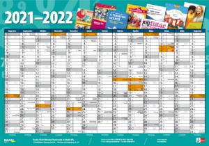 Plakátnaptár a 2020/21-es nevelési évhez