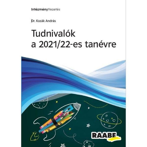 Tudnivalók a 2021/22-es tanévre